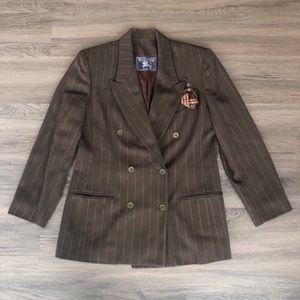 Burberry Wool Vintage Blazer